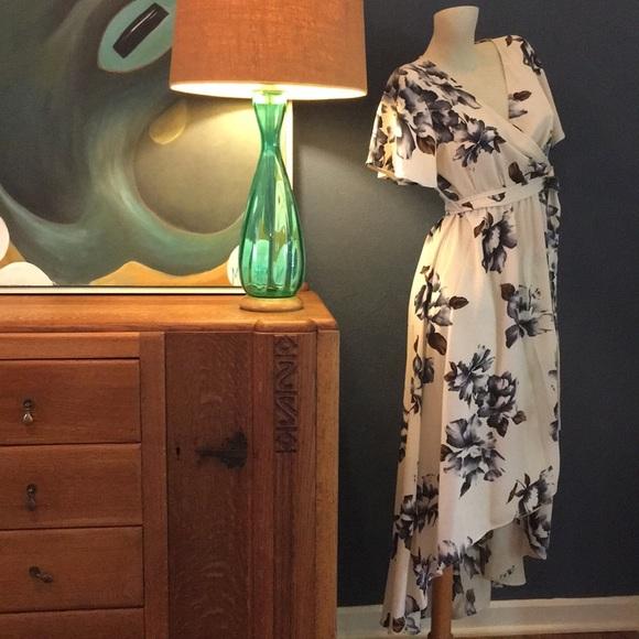 Tua Dresses & Skirts - 1930's Style Floral Wrap Dress